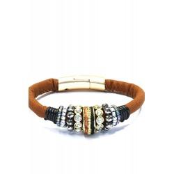 Armband met magneetsluiting Brown